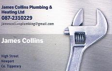 James Collins Business Card