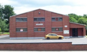 Community centre before refurbishment in 2009